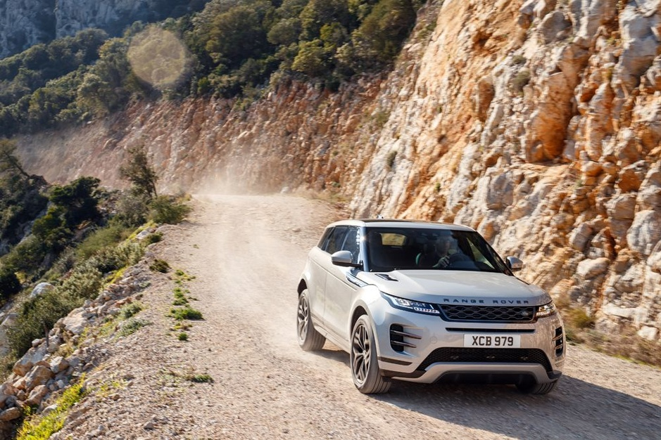 Nieuwe Range Rover Evoque: thuis op alle terrein