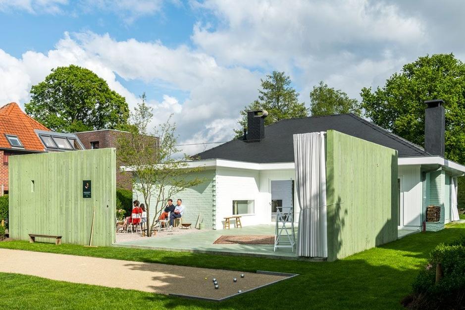 Tom Callebaut verbouwde zijn woning tot een open huis: 'Het is nu een deel van de buurt'