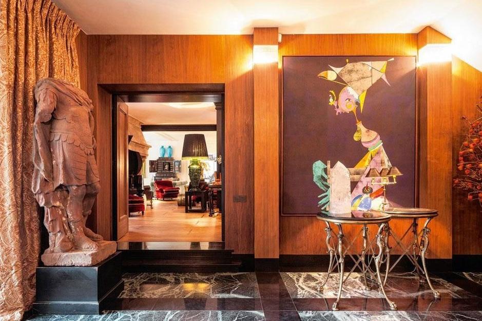 Het uitbundige interieur van Gina d'Ansembourg: 'Ik hou van glamour en overdaad'