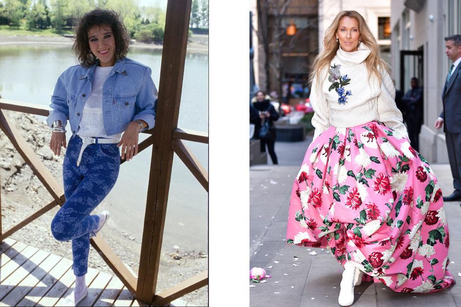 En images: Céline Dion, un destin et un style bien à elle