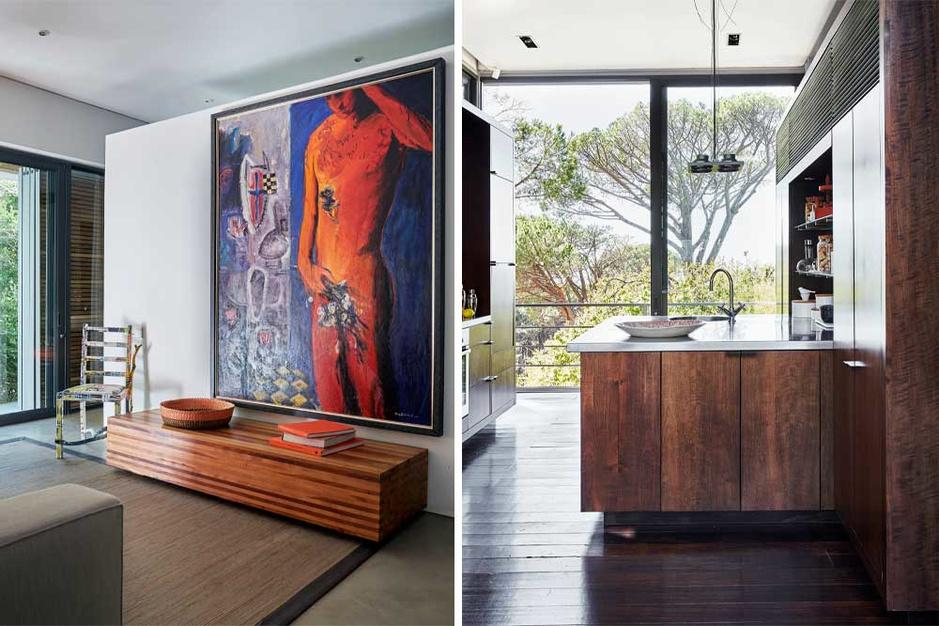 Thuis op de Tafelberg: binnenkijken bij Jan te Lintelo in Kaapstad