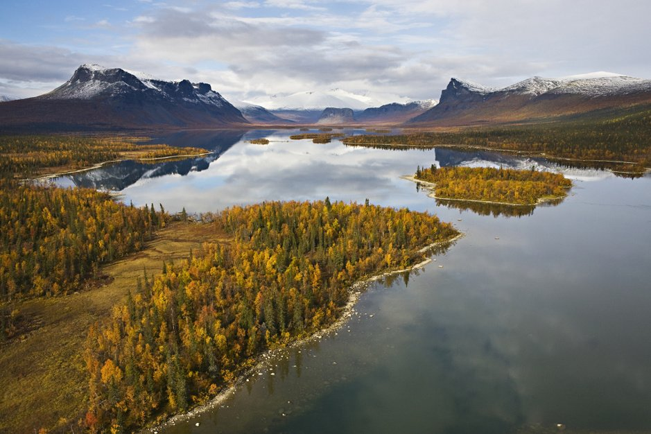 Zot van Zweden: de mooiste nationale parken in beeld
