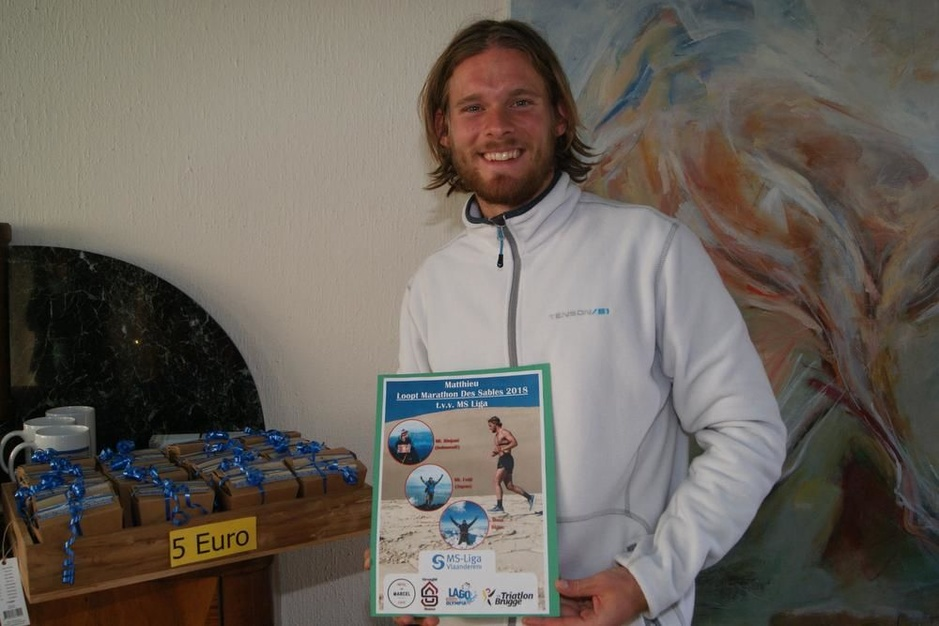 Matthieu Bonne wil in september het Kanaal overzwemmen