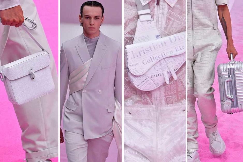 Men in White: mannenmode krijgt maagdelijk witte toets
