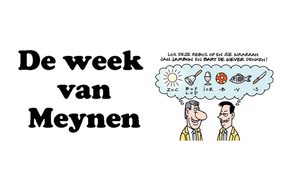 De week van Meynen: politieke puzzels voor gevorderden