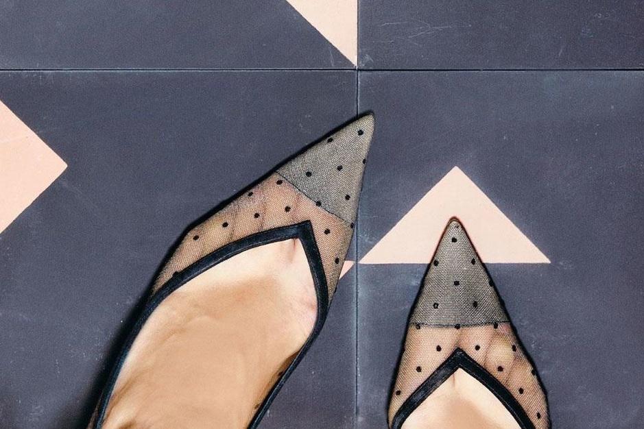 In beeld: mooie vloeren en dito schoenen