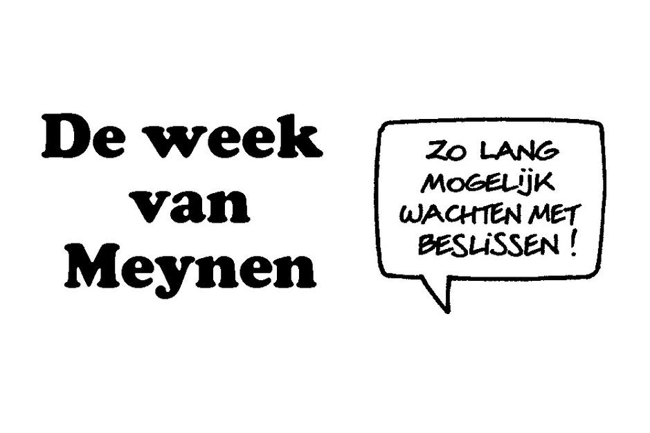 De week van Meynen: hoe ver staat de formatie?