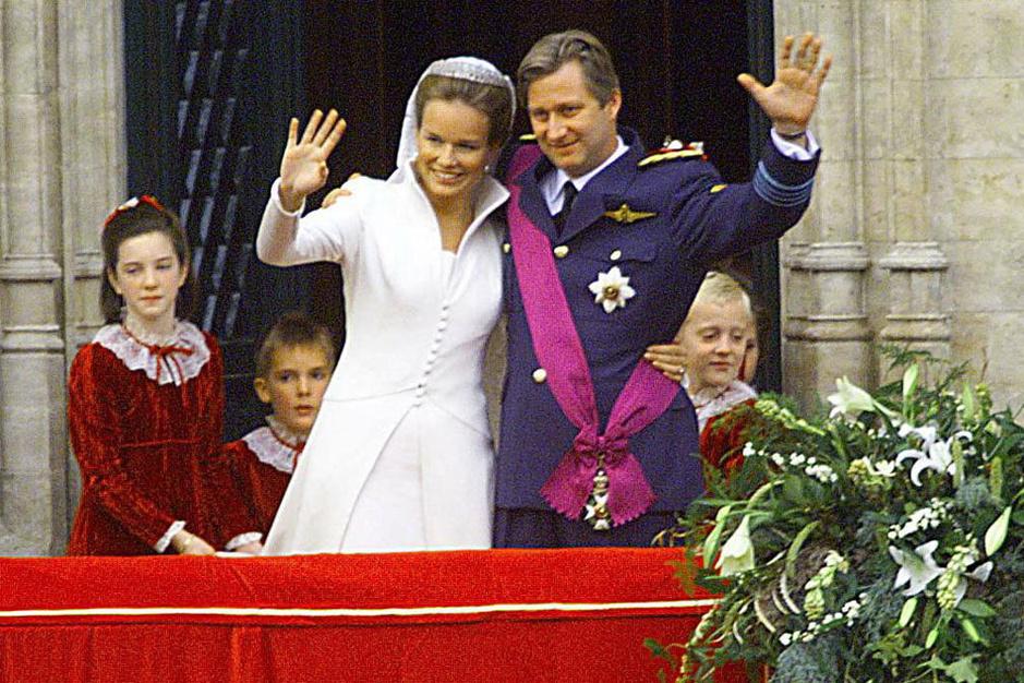 Il y a 21 ans, Philippe épousait Mathilde (en images)