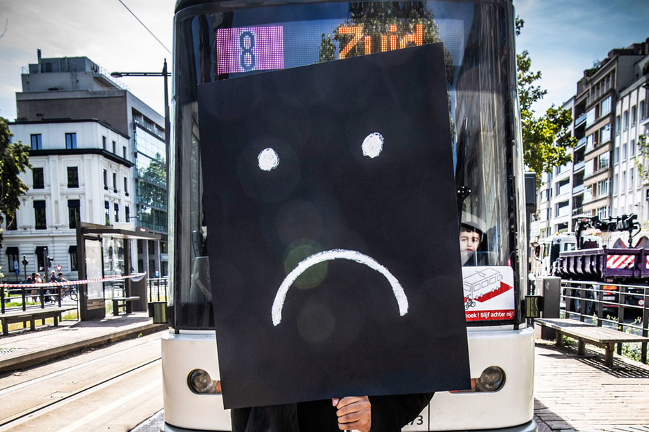 'Tot u spreekt de loser van tram 8': een brief aan de toekomstige Vlaamse minister van Mobiliteit