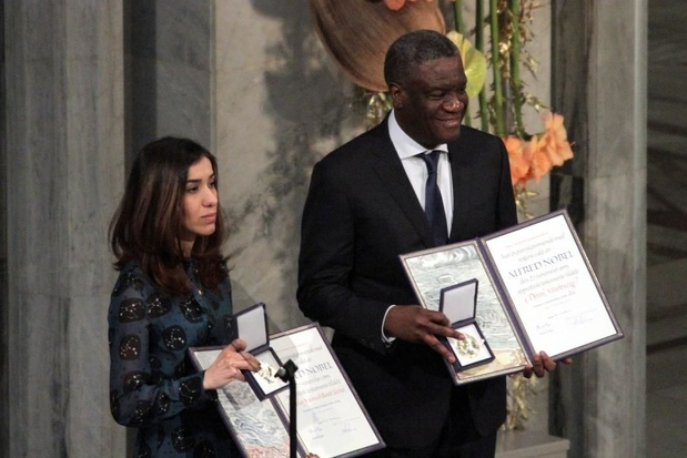 """Le Dr Mukwege et le professeur Cadière racontent leur """"combat contre la barbarie"""" à Bukavu"""