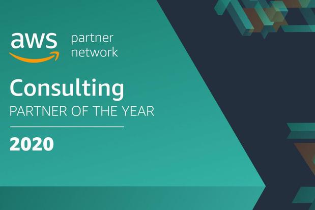 De award voor AWS Partner Network (APN) Consulting Partner van het jaar in de Benelux gaat naar ... Cloudar!