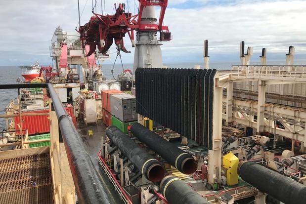 Poetin: Gaspijpleiding Nord Stream 2 zal begin 2021 klaar zijn
