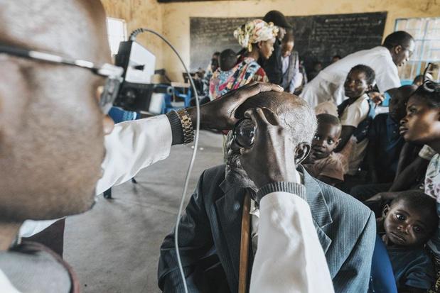 Oogarts in een land met 770.000 blinden