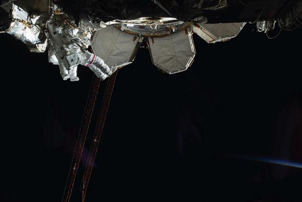Astronauten raken het noorden kwijt
