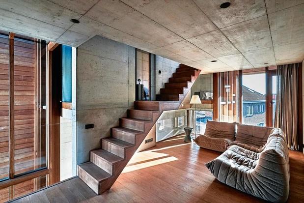 Beton als bouwsteen voor architectenwoning: 'We wilden geen nepmaterialen in ons huis'