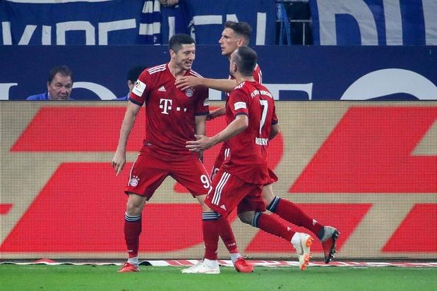Bayern München pakt zevende landstitel op rij