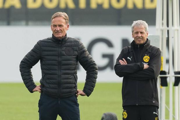 Borussia Dortmund en Lucien Favre: ruis op de relatie