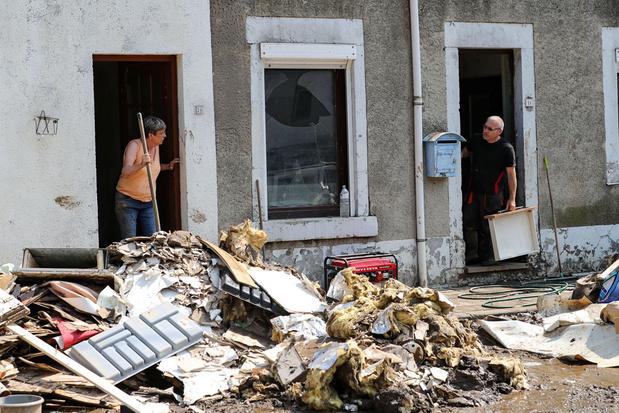 Febelfin: banken staan door noodweer getroffen gezinnen bij