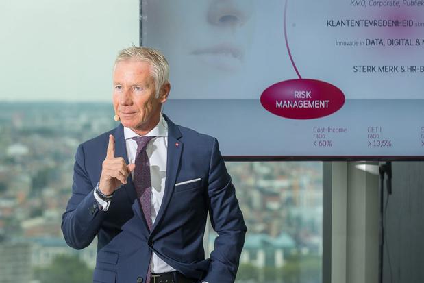 Belfius-topman Raisière waarschuwt voor nieuwe renteverlaging