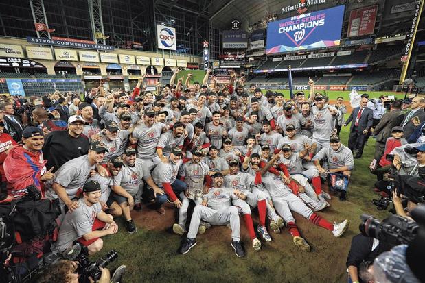 World Series baseball zullen herinnerd worden... maar om de verkeerde redenen