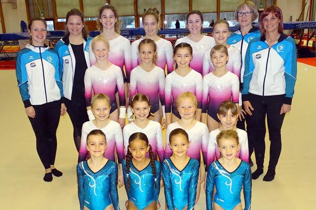 Clubkampioenschap Gym- en Dansclub W.I.K. met meer dan 100 atleten