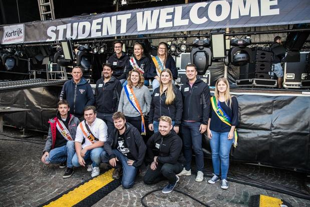 Student Welcome is opener van het academiejaar voor Kortrijk