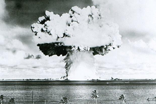 'Twee derde Belgen is voor het tekenen van kernwapenverbod'