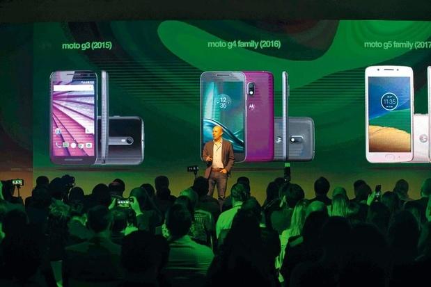 Une Motorola allégée et focalisée en quête de croissance en Europe