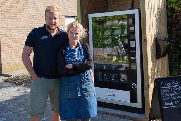 Emma's Lunette steekt nieuwe automaat vol gezond lekkers