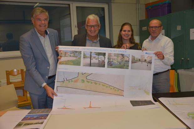 Gemeenteplein in Knokke wordt ontmoetingsruimte in het groen