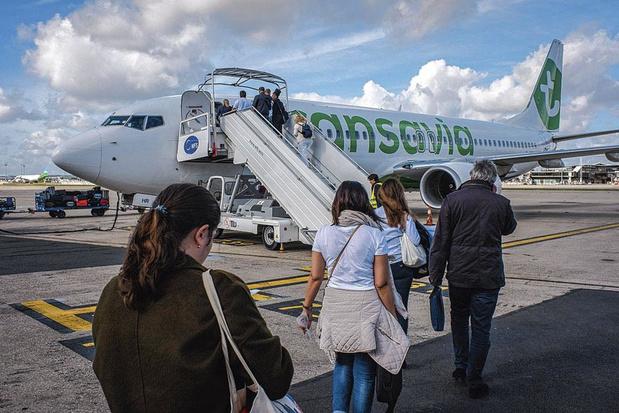 Transavia à Brussels Airport