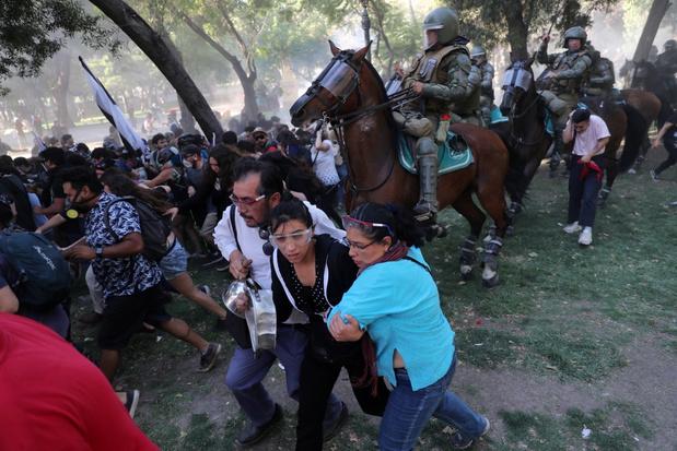 Aantal doden bij onlusten in Chili loopt op tot 29