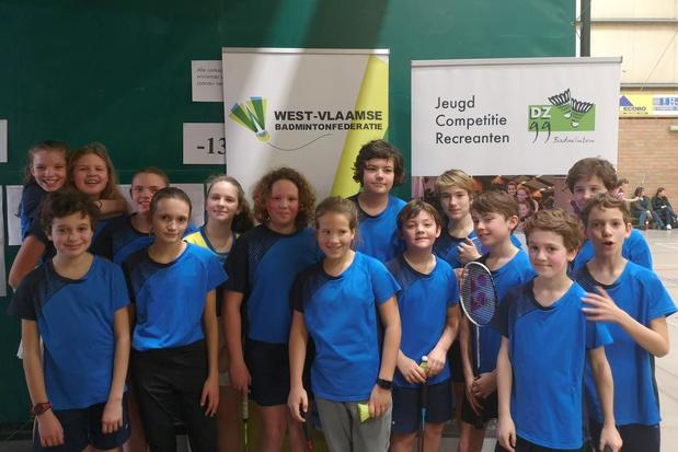 DZ99 verwelkomde 140 badmintonspelers voor de KW Cup