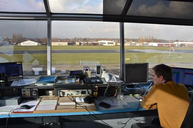 Tien procent minder vluchten op luchthaven Kortrijk-Wevelgem