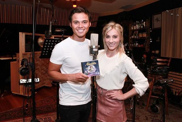 Hoofdcast familiemusical Aladdin neemt full-cd op in Sint-Niklaas