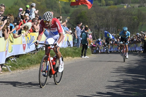 Mathieu van der Poel wint Amstel Gold Race