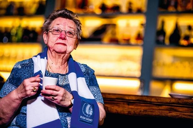 Passie voor AA Gent: gewezen cafébazin Yolande Smesman is al meer dan 50 jaar bij Gent