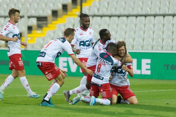 KV Kortrijk wint bij Cercle Brugge, geen winnaar in Eupen - Waasland-Beveren