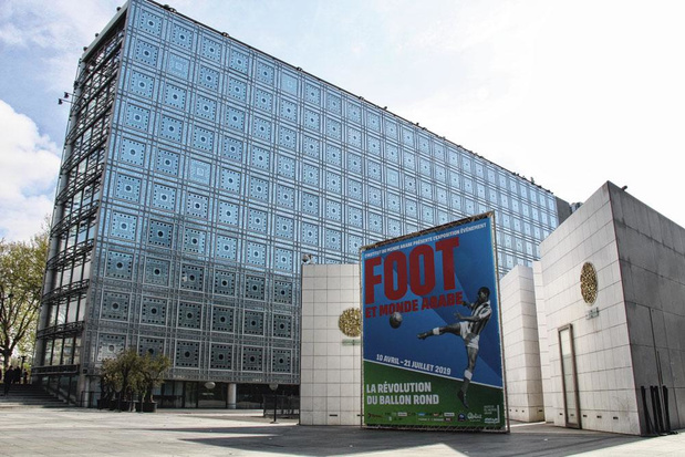 Parijse expo toont voetbal als politieke spreekbuis in de Arabische wereld