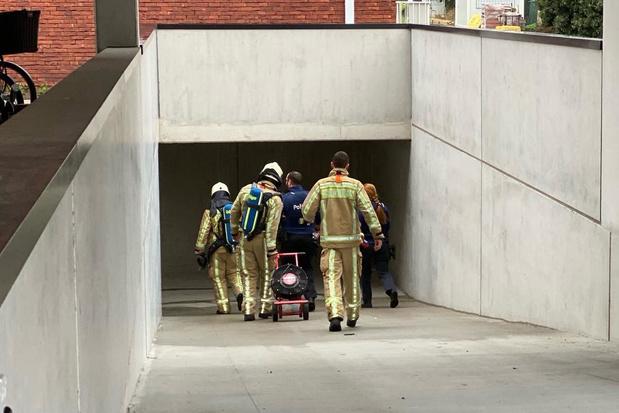 Poederblusser laat brandalarm afgaan in Assebroek