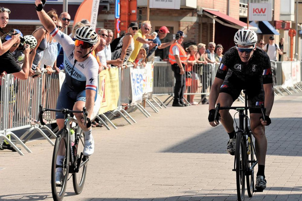 Winst voor Nederlander Hans Dekkers bij elite zonder contract en beloften in Westkapelle