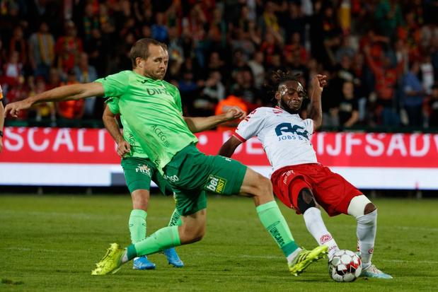 Gelijkspel tussen Kortrijk en Oostende in spektakelwedstrijd