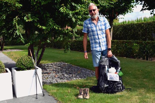 """Menenaar Dirk Robaey bereikt Compostella na 100 dagen: """"Zou zo opnieuw vertrekken"""""""