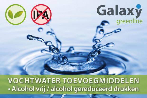 Igepa Belux introduceert nieuwe serie Galaxy Greenline vochtwater toevoegingsmiddelen