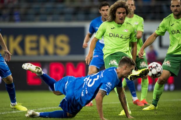 KV Oostende slikt twee goals in een vijftal minuten