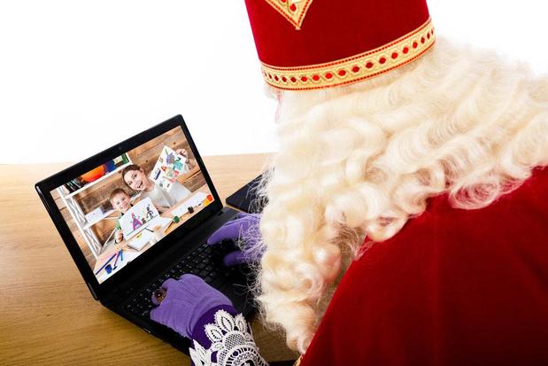 Sinterklaas komt dit jaar digitaal langs in Roeselare