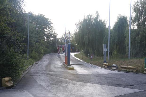 Brand in afvalbunker in Harelbeke snel onder controle