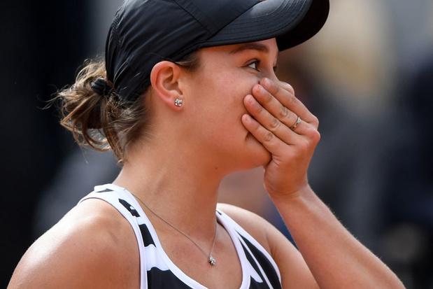Ashleigh Barty heeft met Roland Garros eerste Grand Slam beet