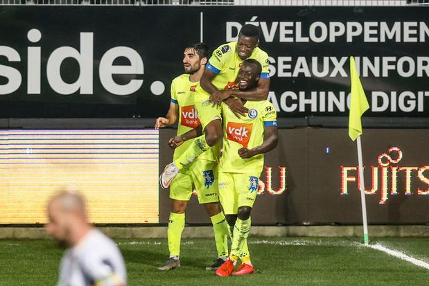 Charleroi verliest thuis van Gent