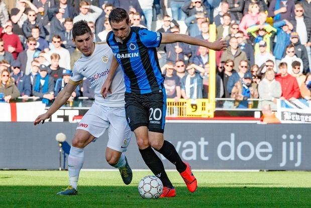 Suspense entre Charleroi et Saint-Trond, Bruges a relancé la course au titre